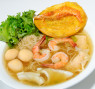 E02. Mì Đồ Biển (Khô/Ướt)(Sợi Lớn/Nhỏ) – Seafood Egg Noodle in Soup