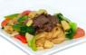 F04. Hủ Tiếu Xào Thịt Bò  Stir Fried Rice Noodle with Beef