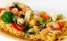 F10. Mì Xào Giòn Đồ Biển  Crispy Egg Noodle with Seafood