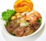 H04. Hủ Tiếu Mì Thập Cẩm (Khô/Ướt)  Mixed Rice & Egg Noodle in Soup
