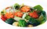 P20. Phở Rau Cải  Vegetable Rice Noodle Beef Soup