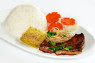 R10. Cơm Sườn, Bì, Chả  Grilled Pork, Shredded Pork Skin & Steamed Crab Meat