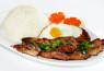 R11. Cơm Sườn, Gà, Ốp La  Grilled Pork, Grilled Chicken, Fried Egg