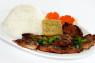R12. Cơm Sườn, Gà, Chả Cua  Grilled Pork, Grilled Chicken & Steamed Crab Meat