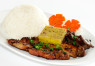 R13. Cơm Bò, Gà, Chả Cua  Grilled Beef, Grilled Chicken & Steamed Crab Meat