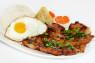 R14. Cơm Sườn, Gà, Chả Cua, Ốp La  Grilled Pork, Grilled Chicken, Steamed Crab Meat & Fried Egg