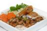 V07. Bún Gà Nướng, Chả Giò Grilled Chicken & Springroll