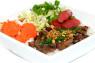 V10. Bún Thịt Nướng, Nem Nướng  Grilled Pork & Grilled Pork Stick