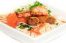 V11. Bún Tôm Càng Nướng, Chả Giò  Grilled Jumbo Shrimp & Spring Roll