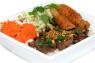 V12. Bún Thịt Nướng. Chạo Tôm  Grilled Pork & Shrimp on Sugar Cane