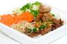 V14. Bún Thịt Nướng, Chả Giò, Bì  Grilled Pork, Spring Roll & Shredded Pork Skin