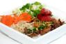 V15. Bún Thịt Nướng, Nem Nướng, Bì  Grilled Pork, Grilled Pork Stick & Shredded Pork Skin