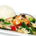 Stir Fried Seafood –
