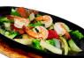 X16. Tôm Xào Trên Dĩa Nóng  Stir Fried Shrimp on Sizzling Plate