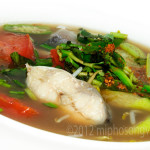 Shrimp or Fish Sweet and Sour Soup with Rice