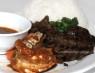 R09. Cơm Tôm Càng Rim, Bò  Jumbo Shrimp & Grilled Beef