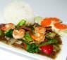 X11. Tôm Xào Sốt Tàu Xì  Stir Fried Shrimp with Black Bean